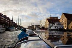 Navigazione di Copenaghen Immagine Stock