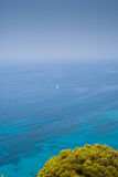 Navigazione di estate in Grecia Fotografia Stock