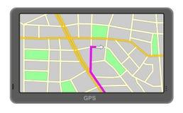 Navigazione di GPS Fotografie Stock Libere da Diritti