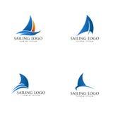 Navigazione Logo Vector Immagine Stock