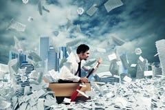 Navigeer de bureaucratie stock foto's