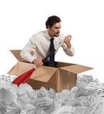 Navigeer de bureaucratie stock fotografie
