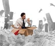 Navigeer de bureaucratie stock afbeeldingen