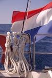 Navigeer op zee stock foto's