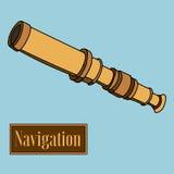 navigering vektor illustrationer