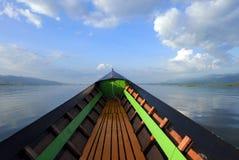 Navigering på floden Royaltyfri Bild