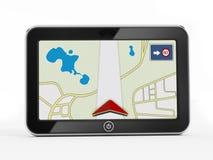 Navigeringapparat Arkivbild