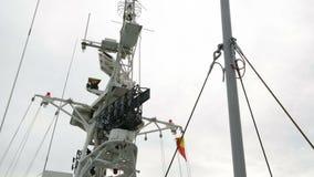 Navigeringapparater på skeppet lager videofilmer