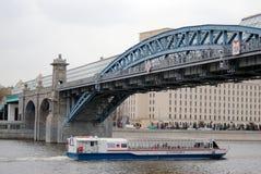 Navigeringsäsongöppning i Moskva Royaltyfri Bild