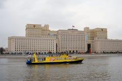 Navigeringsäsongöppning i Moskva Arkivbild