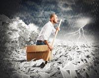 Navigieren Sie die Bürokratie Lizenzfreie Stockfotografie