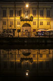 Navigli canal Royalty Free Stock Photo