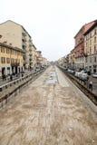 Navigli em Milão Imagem de Stock