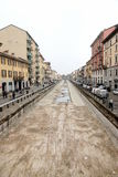 Navigli en Milano Imagen de archivo