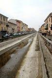 Navigli in Milan. A view of the Naviglio Grande in Milan, Italy Stock Photos
