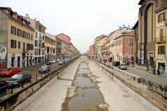 Navigli in Milan Stock Images