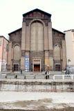 Navigli in Milan. A view of the Naviglio Grange in Milan, Italy Royalty Free Stock Image