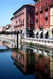 Navigli, Milano Royalty Free Stock Photo