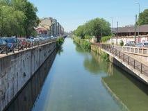 Naviglio Grande, Milan Stock Images