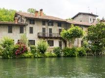 Naviglio Grande (Milan, Italy) Royalty Free Stock Photography