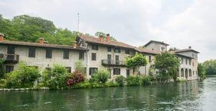 Naviglio Grande (Milan, Italy) Royalty Free Stock Image