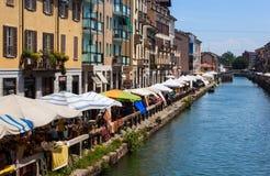 Naviglio, Milan Royalty Free Stock Image