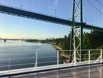 Naviguant dans Vancouver, Colombie-Britannique Photo stock