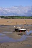 Naviguant et bateaux de pêche Photo stock