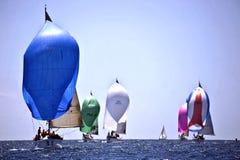 40º naviguant Trophy Conde de Godo Images stock