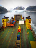 Navimag Ferry and Glacial Patagonia Fjord Voyage Stock Photography