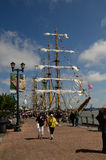 Navio alto entrado em Nova Orleães Fotos de Stock Royalty Free