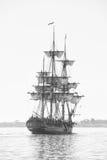 Navio alto sob a vela Fotografia de Stock