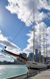 Navio alto ventoso Fotos de Stock Royalty Free