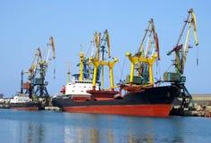 Navio ao lado do quay Imagem de Stock
