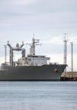 Navio auxiliar naval Imagens de Stock