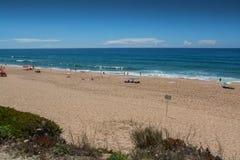 Navio beach in Santa Cruz, Portugal. Royalty Free Stock Images