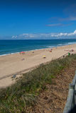 Navio beach in Santa Cruz, Portugal. Stock Image