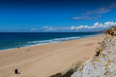 Navio beach in Santa Cruz, Portugal. Royalty Free Stock Photos