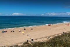 Navio beach in Santa Cruz, Portugal. Stock Photography