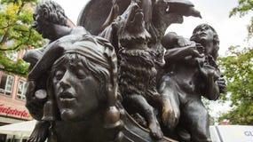 Navio da escultura dos tolos foto de stock royalty free