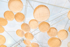 Navio de bambu chinês fotos de stock royalty free