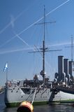 Navio de batalha Foto de Stock