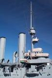 Navio de batalha Foto de Stock Royalty Free