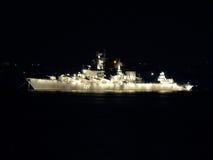 Navio de batalha Fotografia de Stock Royalty Free