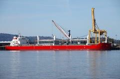 Navio de carga. Imagens de Stock