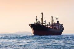 Navio de carga Imagens de Stock Royalty Free