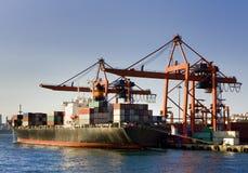 Navio de carga Fotografia de Stock