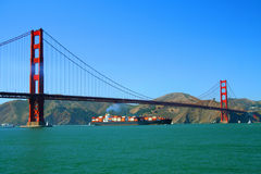 Golden gate bridge foto de stock royalty free