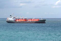 Navio de carga do gás imagem de stock