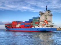 Navio de carga do recipiente Imagem de Stock